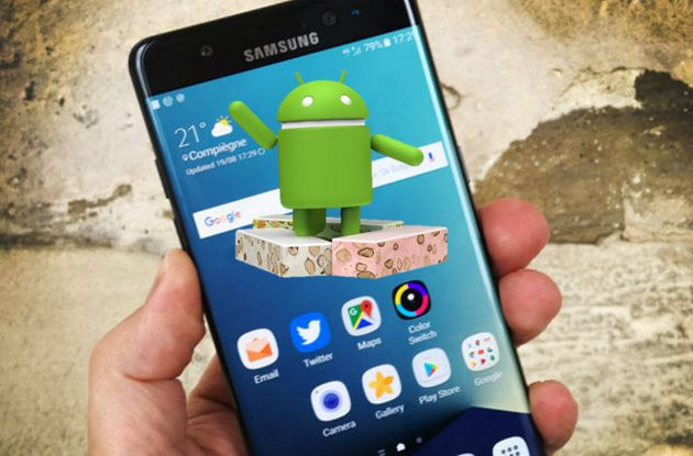 Photo of Android 7.0 Nougat en el Samsung Galaxy S7