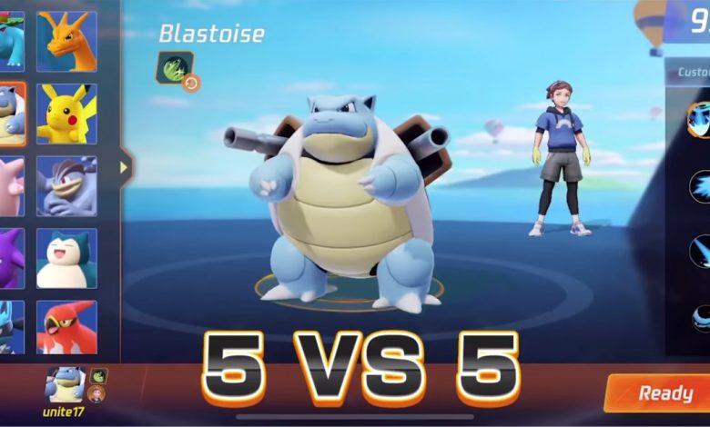 Todo sobre el nuevo pokémon unite