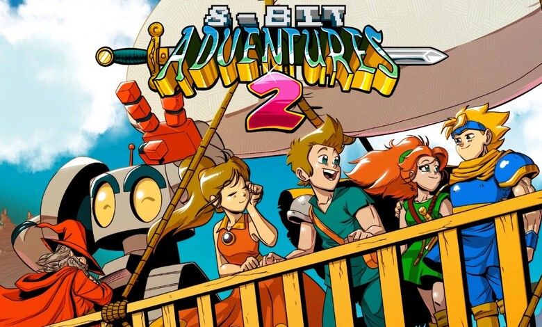 8-Bit Adventure 2 muestra su gameplay