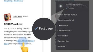 Photo of Google Chrome indicará cuales son las páginas con carga rápida