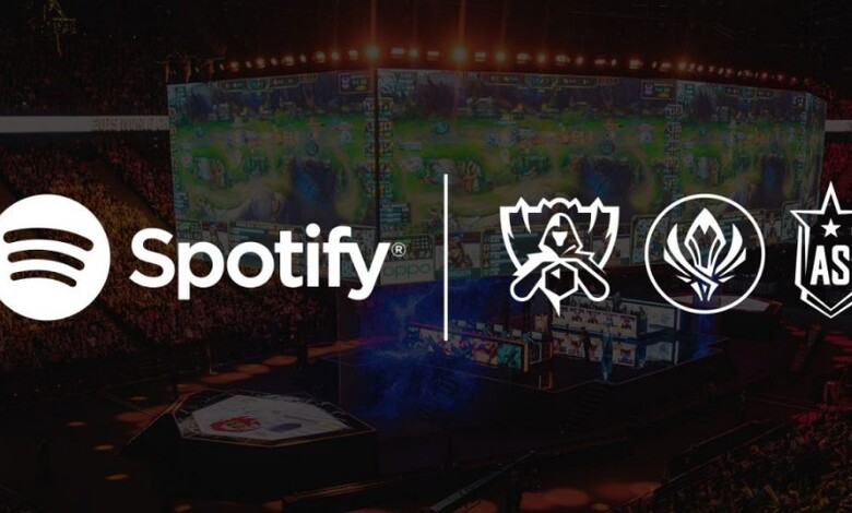 Spotify y League of Legends se unen