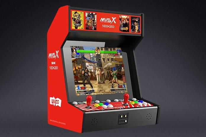 SNK Neo Geo MVSX regresa