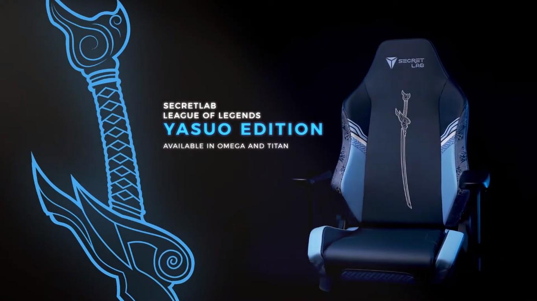 Secretlab confima colaboración con League of Legends