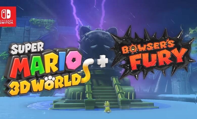 Super Mario 3D World + Bowser's Fury llegan a Nintendo Switch