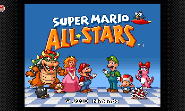 Super Mario All Stars de regreso a la Switch