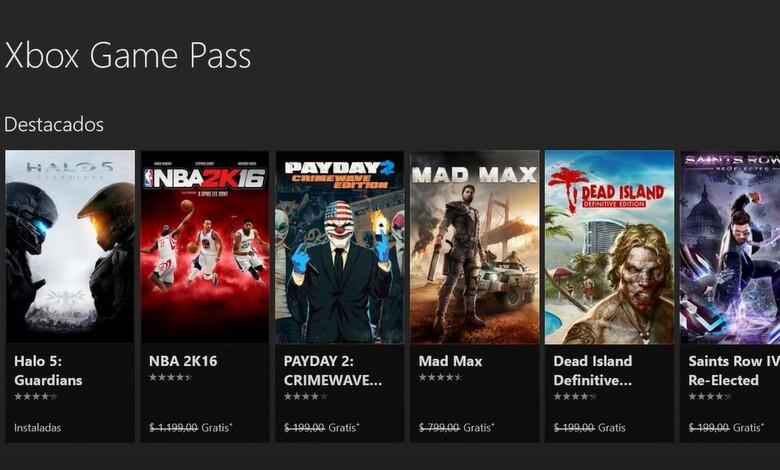 Xbox Game Pass y precio oficial